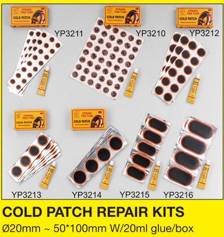COLD PATCH REPAIR KITS