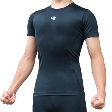 0fa8ff8510 Men's compression T shirt, shirts, shirt sleeve, energy fabric, bamboo  charcoal