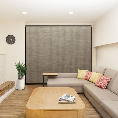 Cordless Window Roller Blind Roller 120 x 185cm paper fabric