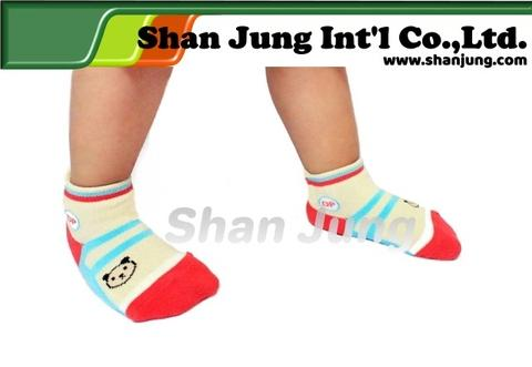 kids socks, Kids Right Angle No Show Socks (Anti-Slip)