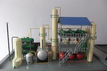 Model_of_daily_10tons_WastePlastics_or_Wastetires_processed_to_GreenDiesel