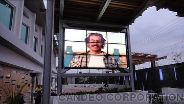 outdoor LCD monitor video wall