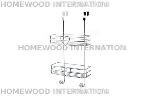BATHACCESSORIES-RACK-SHOWERCADDY-IRON-CHROME-ACRYLIC
