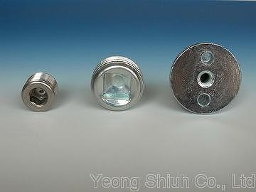 Free Shipping 5pcs 30mm Silver With Drill Flat Back Metal Buttons Buttons Garment Accessories Diy Jewelry Accessories/01 Arts,crafts & Sewing