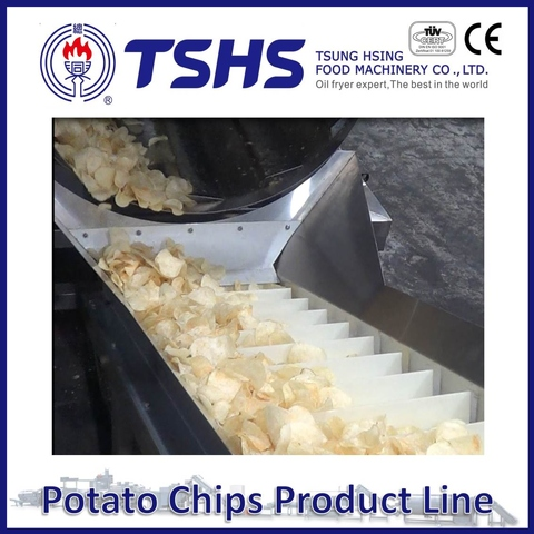 Made in Taiwan High Quality Pringles Chips Fryer Line