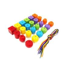 Big size Light color beads (6 color 48 pcs 3.6cm)