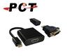 Mini DP to HDMI + DVI + VGA Modular Adapter (DHD11V-M)