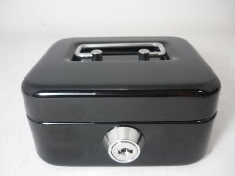 【SENS】Metal Cash Box With 2 Key