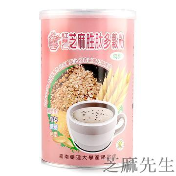Red coix sesame peptide cereals powder