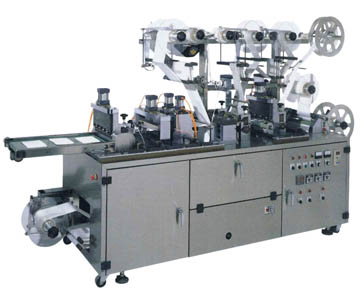 Wound Pad Cutting & Packing Machine