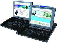 "All-in-One 15""or17"" LCD KVM Switch"
