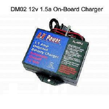DM02 12v 1.5A On-Board Charger Traditional Charger