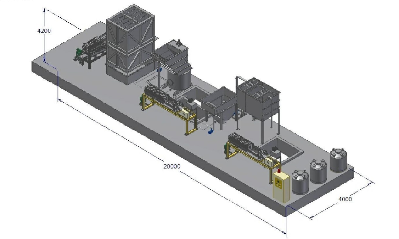 Taiwan Waste Water Filtration System Environmental Recycling Diagram Services