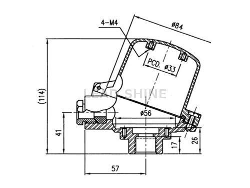 Taiwan Dual Wire Entry Thermocouple Head Knuzds