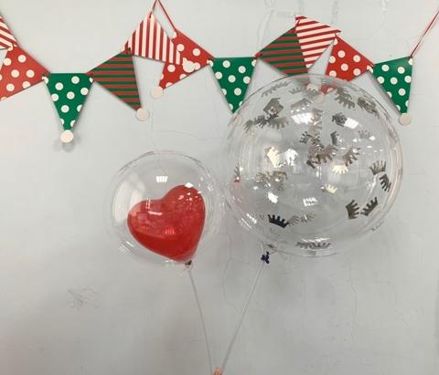 """10 and 18"""" clear balloons"""