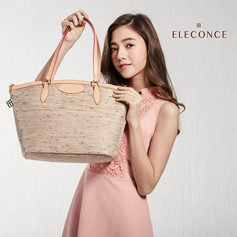 ELECONCE PARALLEL Tote Bag (SandyYellow)