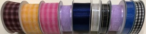 Sheer Organza & Satin Ribbons
