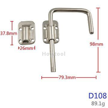 Security Metal Sliding Gate Hotel Door Security Latch