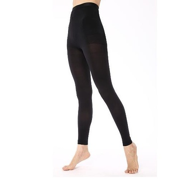 05a278de32 2 Pairs Footless Tights Women Compression Slimming Leggings 18-22mmHg Leg  Shaping Stockings