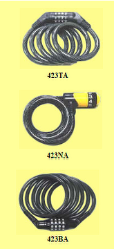 Combination Cable locks,security protection Padlock,