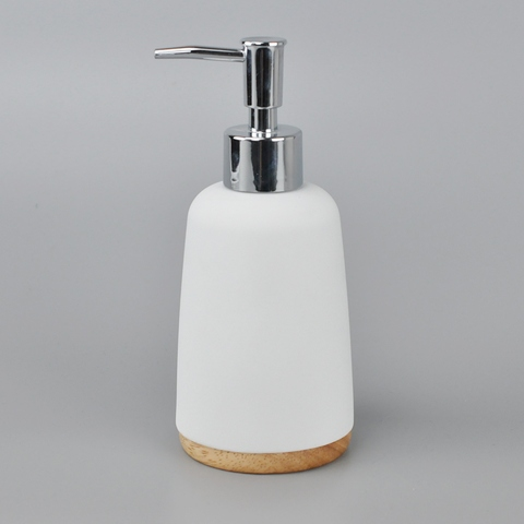 Taiwan Poly Kitchen Soap Dispenser With Stainless Steel Wire Ball |  Taiwantrade.com