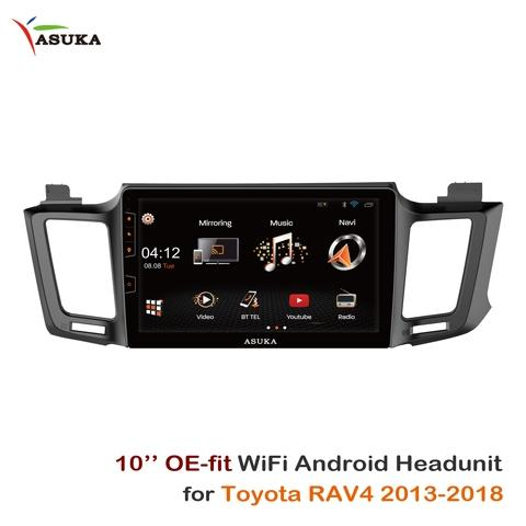 "10"" WiFi Android Multimedia 2-DIN Headunit for TOYOTA RAV4"