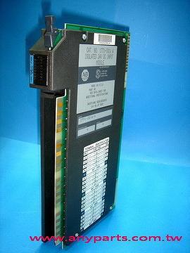 (A-B PLC) Allen Bradley 1771 Programmable Controller CPU:1771-IQ16 A Isolated Input Module