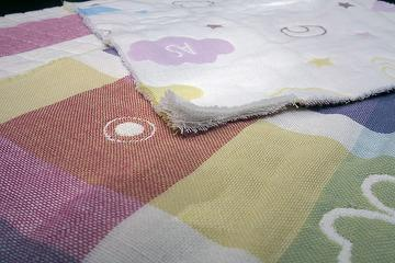 Six layer fabric,textile leather cotton fabric