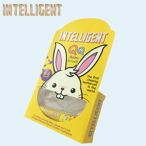 INTELLIGENT Baby silicone toothbrush