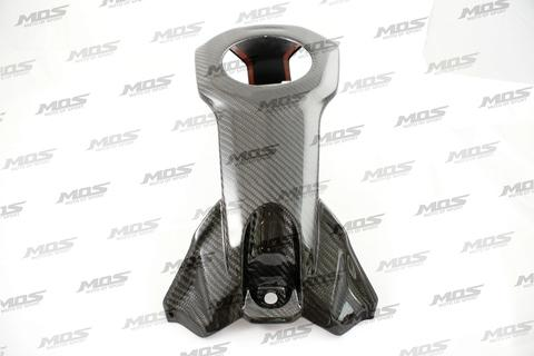 MOS Carbon Fiber Central Cover for the Fuel Tank Panel for Yamaha MT-03 / MT-25
