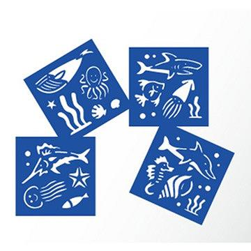 Stencil Kit-Sea World Stencils For Painting