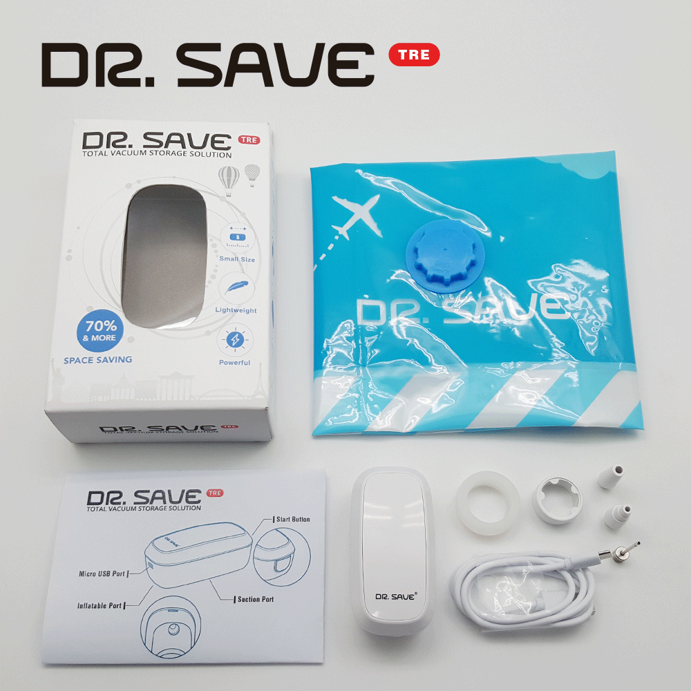 Unbox DR. SAVE TRE Vacuum Sealer