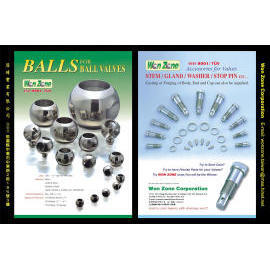 Valve Ball & Stem etc.