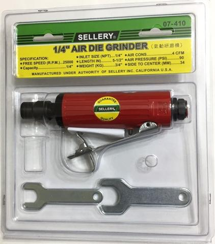 "1/4"" air die grinder 25000RPM 07-410 Sellery"