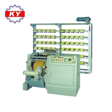 Kyang Yhe textile spandex latex rubber warping machine