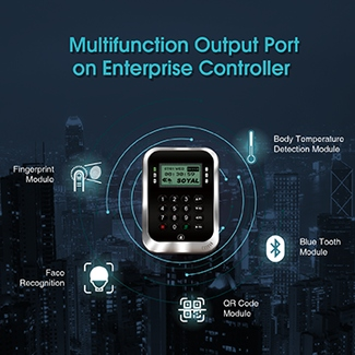 Multifunction Output Port on Enterprise E Series Controller