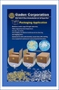 Hot melt glue chips for packaging application