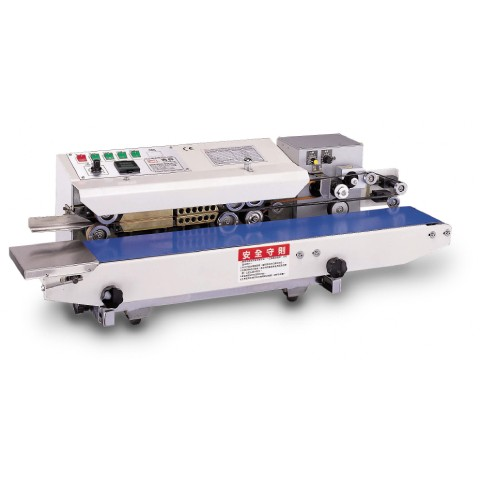 Continuous Horizontal Heat Sealing Machine for Plastic Bags