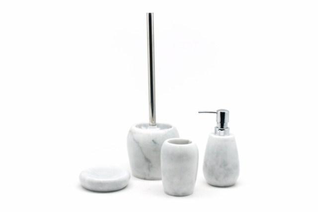 Bath Accessories Marble Bathroom Set Taiwantrade Com