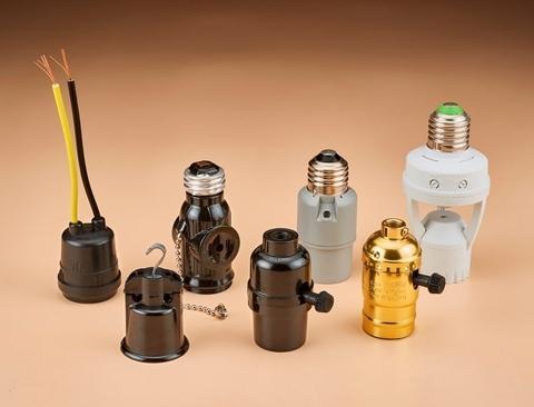 Lamp socket and base - American types