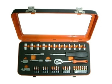 "1/4"" DR. Socket Set 40 PCS"