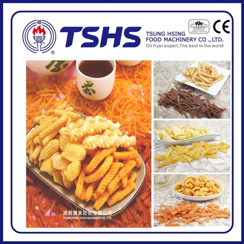 Automatic Industrial Snack pellet Manufacturer with CE