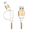 2-in-1 Lightning & Micro USB Cable