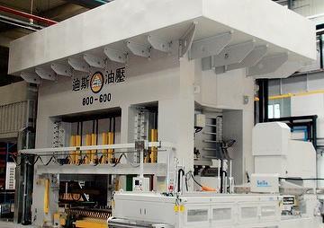 Hydraulic transfer press