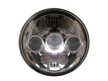 ECE LED Motorcycle Head Lamp, light on