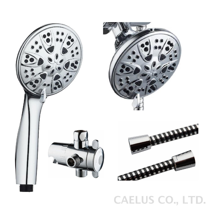 6 Function Shower Kit 4 Handheld Shower Shower Head 3way