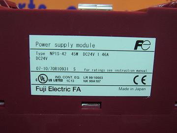 FUJI NP1S-42 POWER SUPPLY MODULE