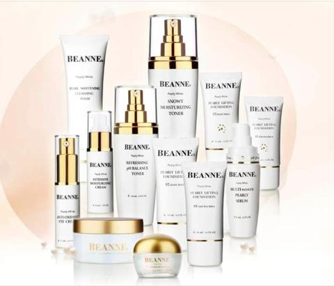 BEANNE Pearly White Series Whitening . Moisturizing . Anti-wrinkles