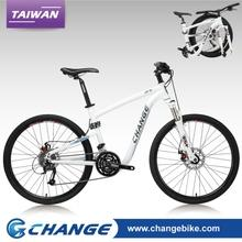 Folding bikes-ChangeBike 26 inch Folding Mountain Bike DF-609D-W Size:19