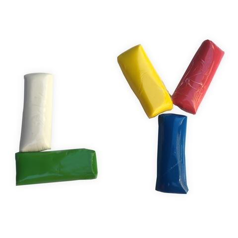 12 Colors Material Fimo Cold Porcelain Clay For Sale